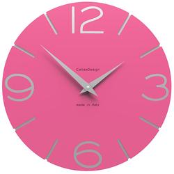 Zegar ścienny Smile CalleaDesign fuksja 10-005-72