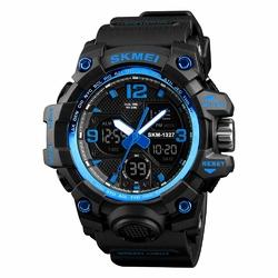 Zegarek męski SKMEI 1327 CHRONOGRAF blue - BLUE