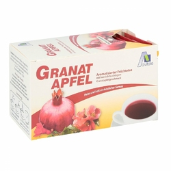 Herbata z wyciągiem z granatów