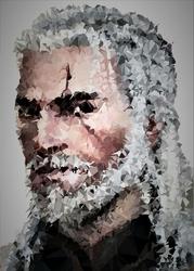 POLYamory - Geralt, Wiedźmin - plakat Wymiar do wyboru: 29,7x42 cm