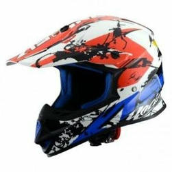ASTONE Kask crossowy MX600 GRAPHIC GIANT BLUEWHITERED