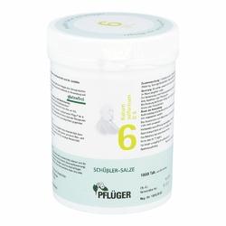 Biochemie Pflueger 6 Kalium sulfur.D 6 Tabl.