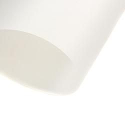 Papier transparentny gładki - biały - BIA