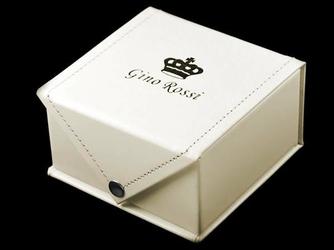 Prezentowe pudełko na zegarek- GINO ROSSI eko ECRU