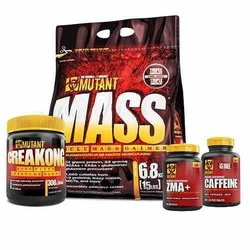 PVL Mutant Mass - 6800g + CreaKong - 300g + Shaker + Próbka - Vanilla - Cookie Cream