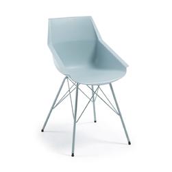 Krzesło CUTRA jasnoniebieskie - niebieski