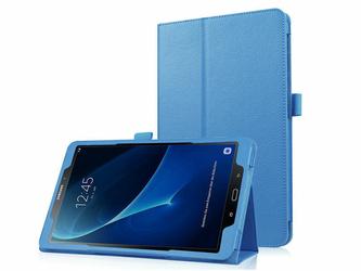 Etui stojak do Samsunga Galaxy Tab A 10.1 niebieskie +klawiatura - Niebieski