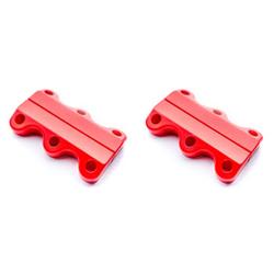 Magnetyczne sznurówki Clicks.life - Fire Red - Fire Red