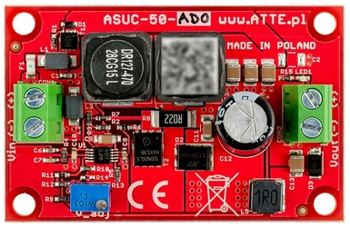 PRZETWORNICA DCDC ATTE ASUC-50-AD0-OF - Szybka dostawa lub możliwość odbioru w 39 miastach