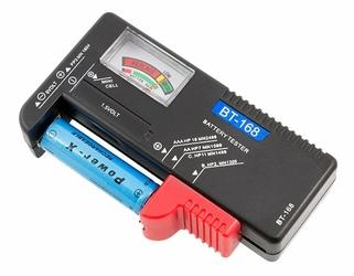 Tester baterii AKU. AAA, AA, 9V