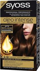 Syoss Oleo, Farba do włosów, 4-18 Mokka