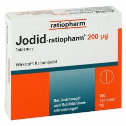 Jodid-ratiopharm tabletki 200µg