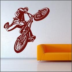 szablon malarski rower, bmx bk13