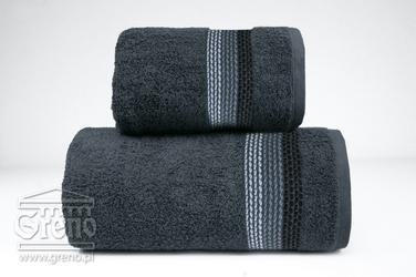 OMBRE POPIELATY ręcznik bawełniany FROTEX - popielaty