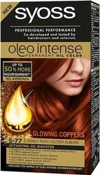 Syoss Oleo, Farba do włosów, 5-77 Lśniący rudy