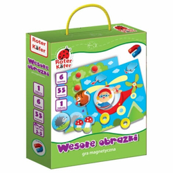Wesołe obrazki - gra magnetyczna dla dzieci