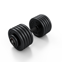 Hantla skr�cana na sta�e 55 kg - Marbo Sport - 55 kg