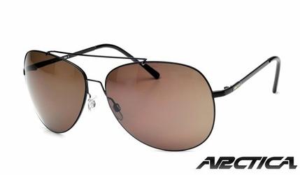 Duże Okulary ARCTICA S-211 Poliwęglanowe Pilotki