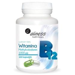 WITAMINA B12 Methylcobalamin 1000µg x 100 kapsułek