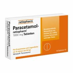 ratiopharm Paracetamol 1000 mg tabletki