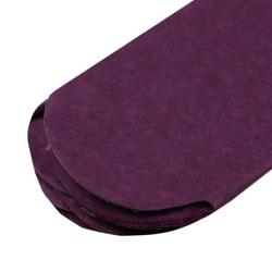 Papierowy pompon 15 cm - śliwkowy - ŚLIW