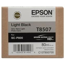 Tusz Oryginalny Epson T8507 C13T850700 Jasny czarny - DARMOWA DOSTAWA w 24h