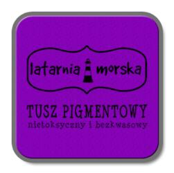 Tusz pigmentowy do stempli i embossingu FIOLETOWY - fioletowy