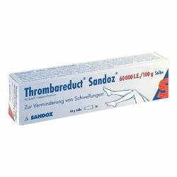 Thrombareduct Sandoz 60 000 I.e. Salbe