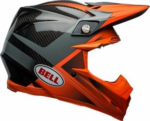 BELL MOTO-9 FLEX HOUND ORANGECHARCOAL Kask Off-road