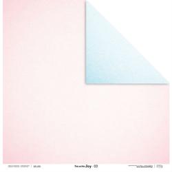 Uroczy papier Pink and Blue JOY 30,5x30,5 cm - 03 - 03