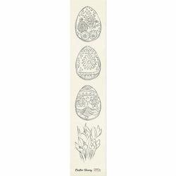Ozdobny pasek z pisankami Easter Bunny - 02 - jajeczka