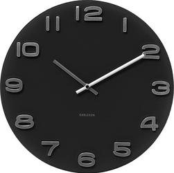Zegar ścienny Vintage okrągły czarny