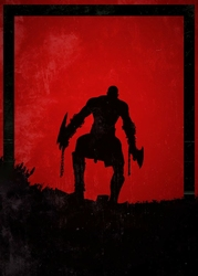 Dawn of Heroes - Kratos, God of War - plakat Wymiar do wyboru: 50x70 cm
