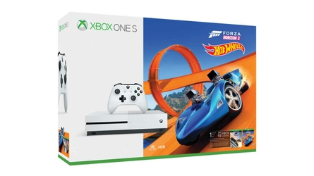 KONSOLA XBOX ONE S 1TB + FORZA HORIZON 3 + HOT WHEELS