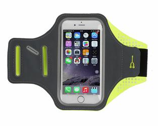 Etui na ramię sportowe do biegania wodoodporne 5.5 cala zielone - Zielony
