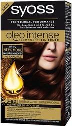 Syoss Oleo, Farba do włosów, 3-82 Subtelny mahoń