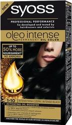 Syoss Oleo, Farba do włosów, 1-10 Intensywna czerń