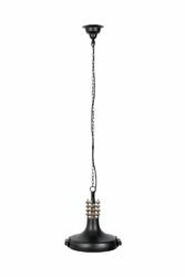Dutchbone :: Lampa wisząca Coil czarna