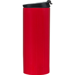 Kubek samochodowy na kawę stalowy Cafe Sagaform czerwony SF-5017504