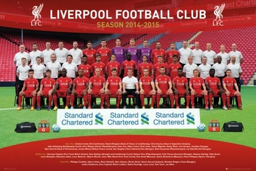 Liverpool Zdjęcie Drużynowe 1415 - plakat
