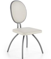 Krzesło do jadalni Estes chromowane