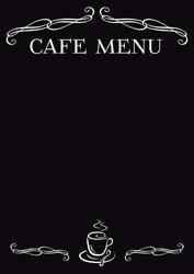 Tablica magnetyczna kredowa cafe menu 15