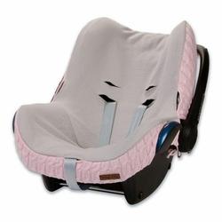 Babys Only, Cable Baby Pink Ochraniacz na fotelik samochodowy 0+, Różowy