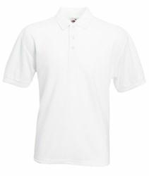 Koszulka polo Fruit of the Loom - 634020 - Biały