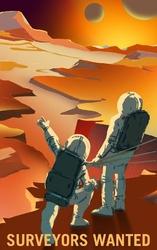 Surveyors Wanted - plakat Wymiar do wyboru: 30x40 cm