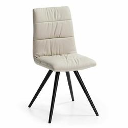 Krzesło ROCA 47x55 kolor beżowy - perłowy
