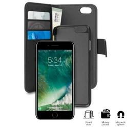 PURO Wallet Detachable - Etui 2w1 iPhone 7  iPhone 6s  iPhone 6 czarny