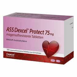 Ass Dexcel Protect 75 mg magensaftresistent    Tabletten
