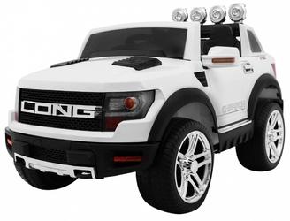 Auto z funkcja bujaka- LONG 4Toys Biały