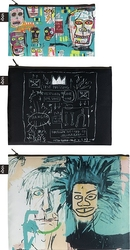 Saszetki Zip Pockets Jean Michel Basquiat 3 szt.